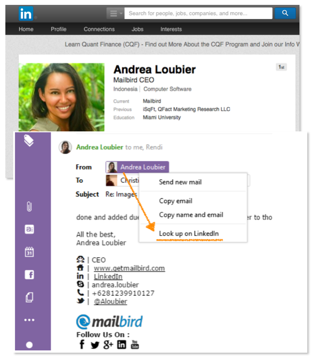 Mailbird, Internet Software, Email Client Software Screenshot