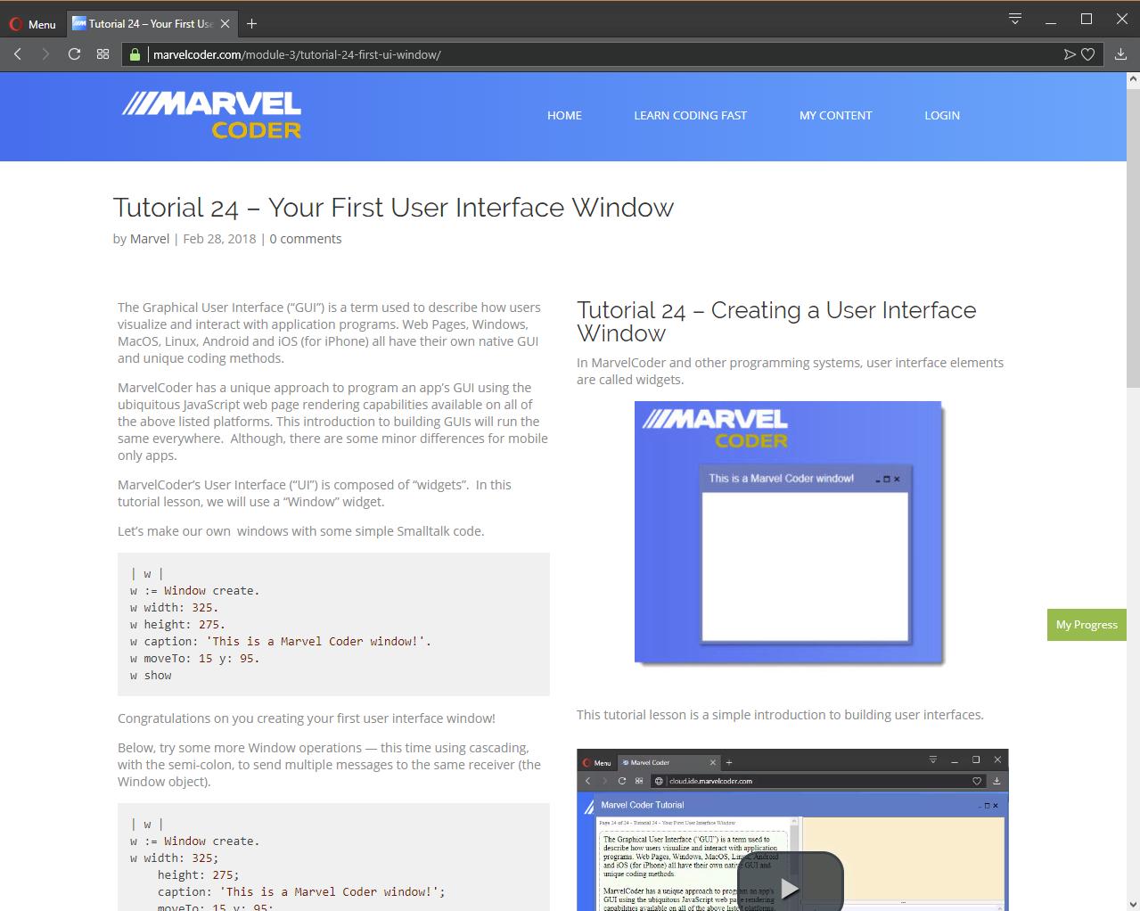 Development Software, MarvelCoder — Learn Coding Fast Screenshot