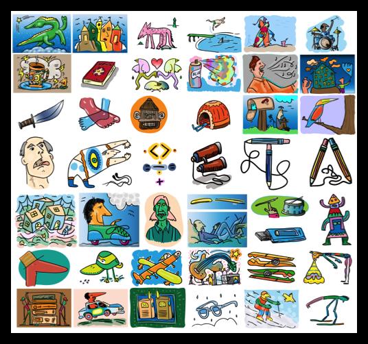 Misc & Fun Graphics Software, Massivelementals Sets #1-11 Screenshot
