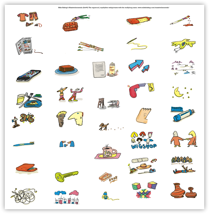Massivelementals Sets #1-11, Design, Photo & Graphics Software, Misc & Fun Graphics Software Screenshot