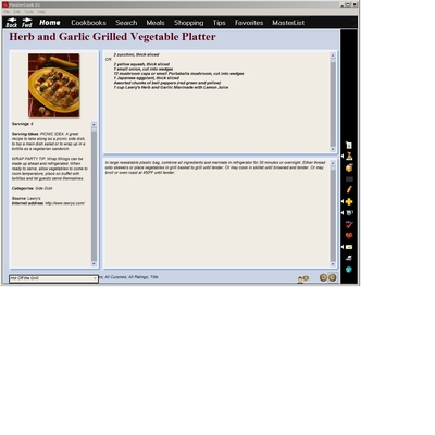 MasterCook 15 Screenshot