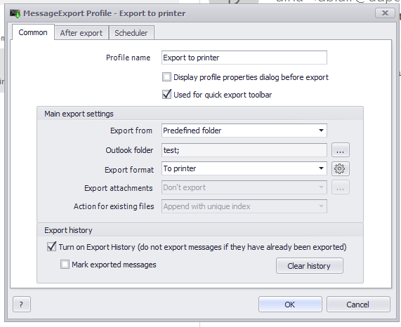 MessageExport add-in for Outlook Screenshot 8