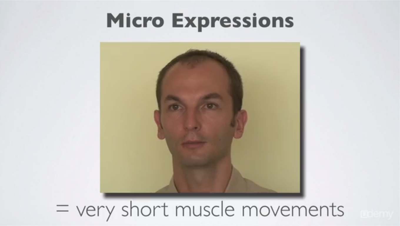Micro Expressions Training & Body Language for Lie Detection Screenshot