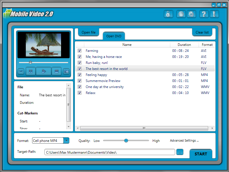 Mobile Video 2 Screenshot