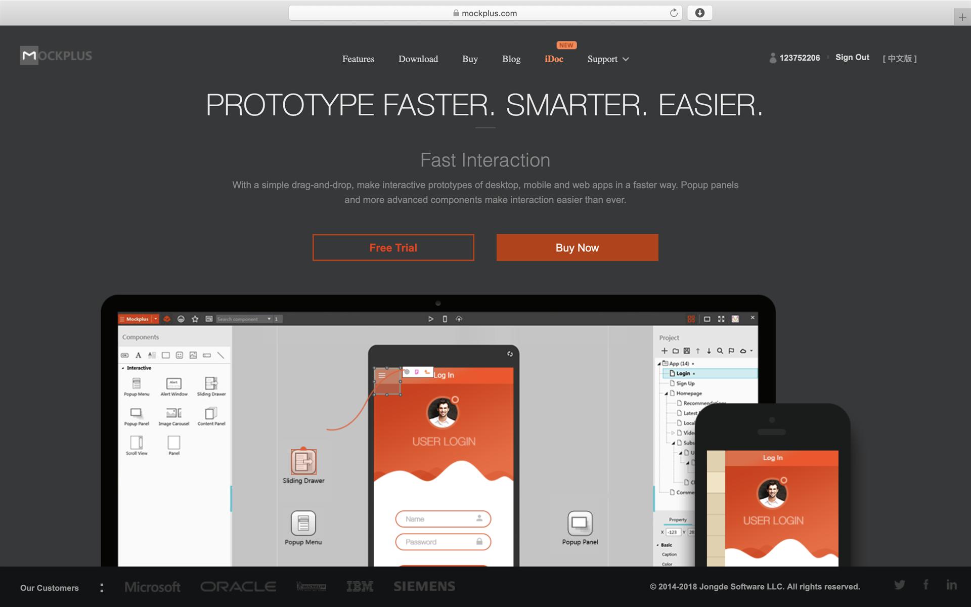 Development Software, Design Tool Software Screenshot