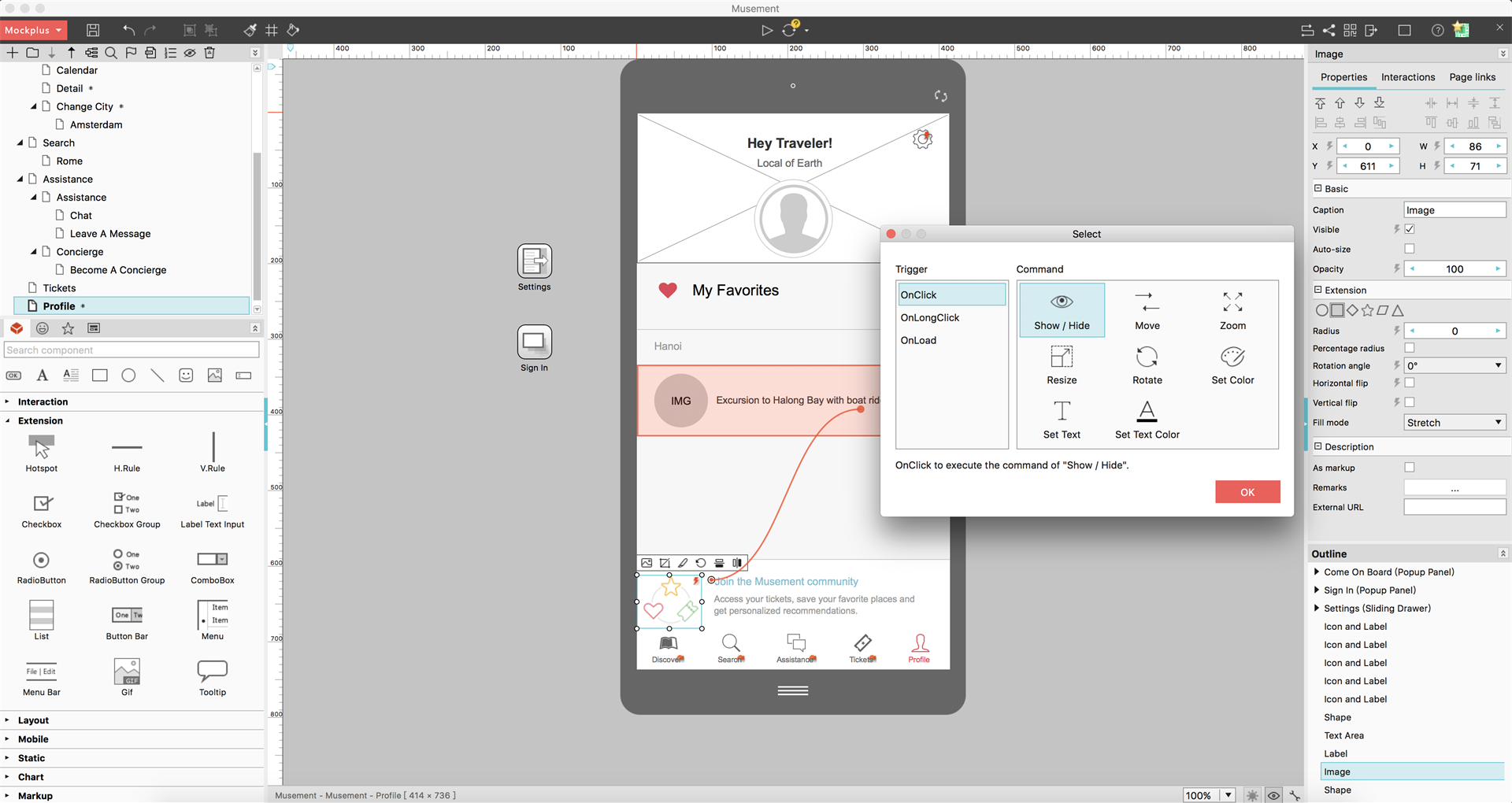 Mockplus Screenshot