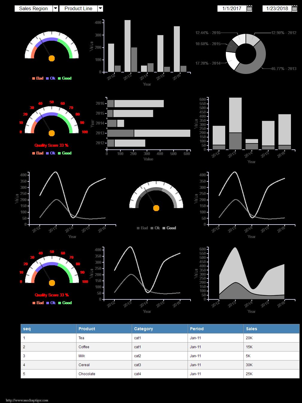 MockupTiger, Vector Drawing Software Screenshot