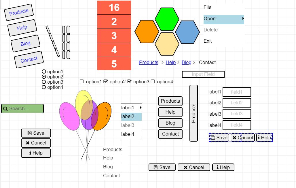 Vector Drawing Software, MockupTiger Screenshot