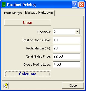 Moffsoft Calculator Screenshot 8