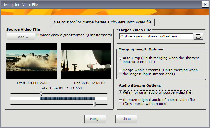Audio Software, Music Editing Master Screenshot