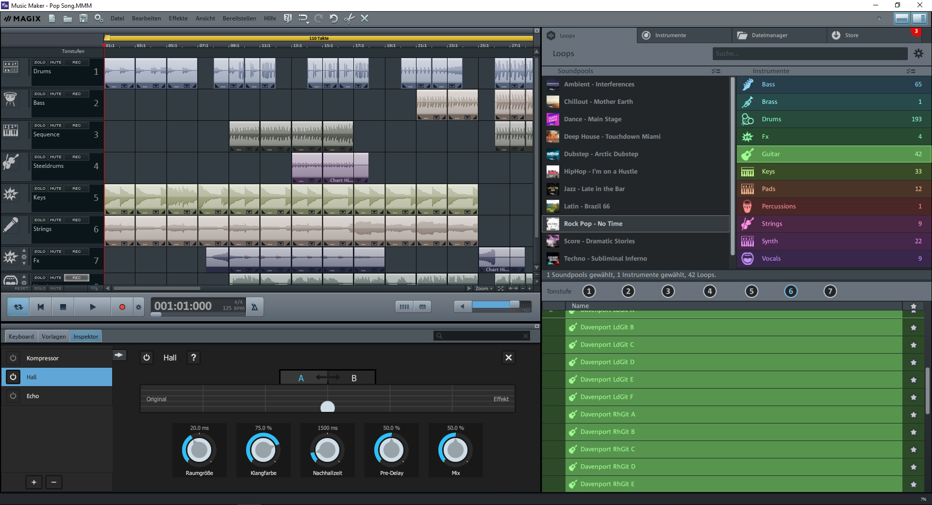 Music Maker, Audio Software Screenshot