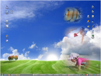 My Better Desktop, Wallpaper Software Screenshot