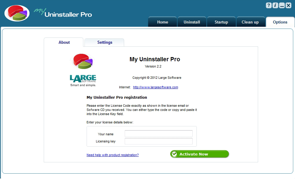 Uninstallation Software, My Uninstaller Pro Screenshot