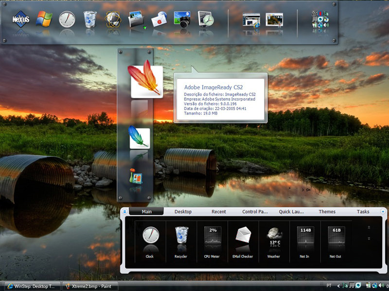 App Launcher Software Screenshot
