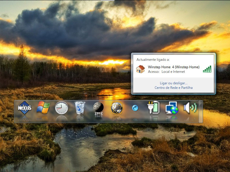 Nexus Ultimate, App Launcher Software Screenshot