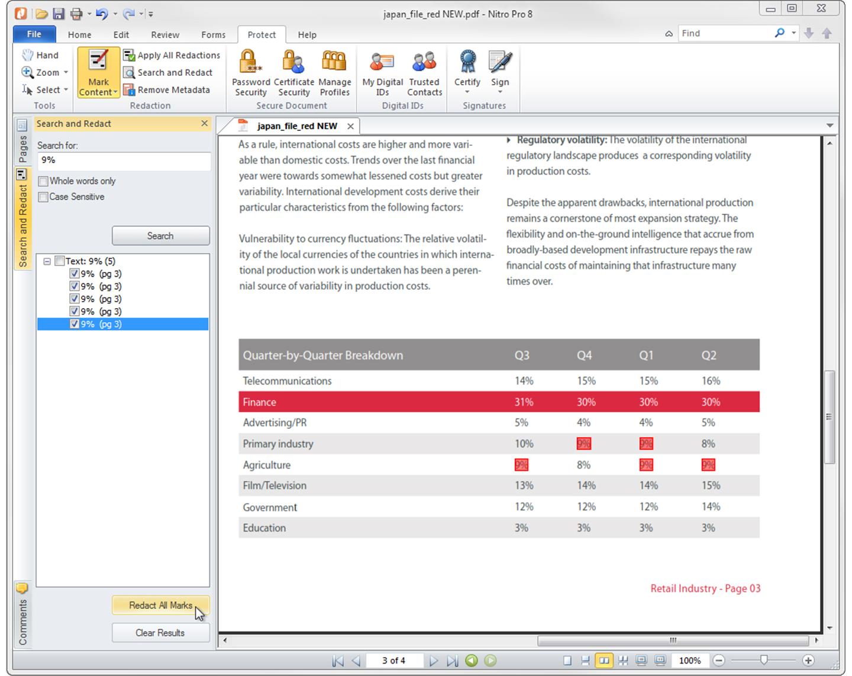 Nitro Pro 8 Screenshot