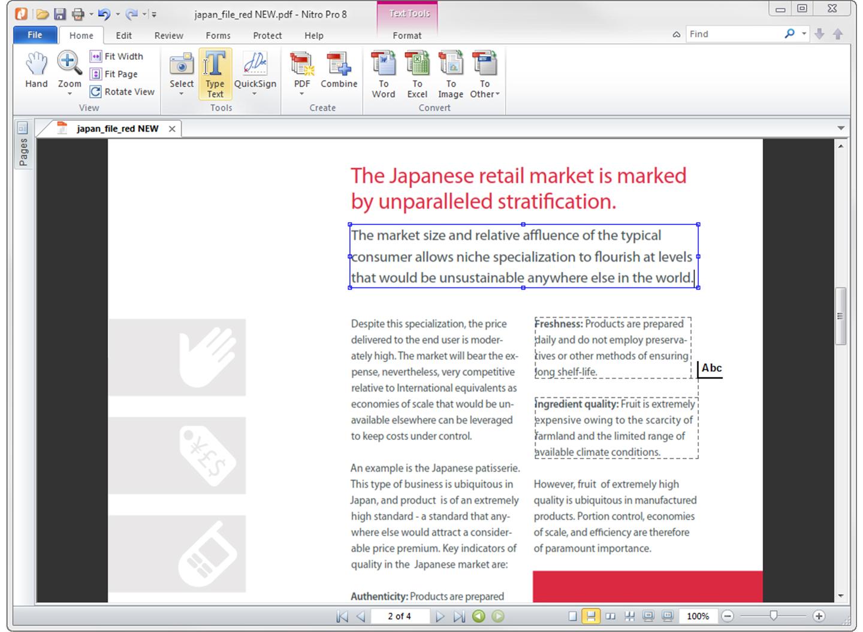 NITRO PDF 8 MSI PDF