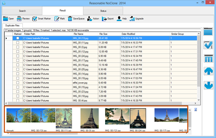 NoClone 2014 - Keep Your Computer Clean and Tidy PC, Software Utilities Screenshot
