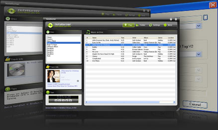 Noteburner Audio Converter Screenshot
