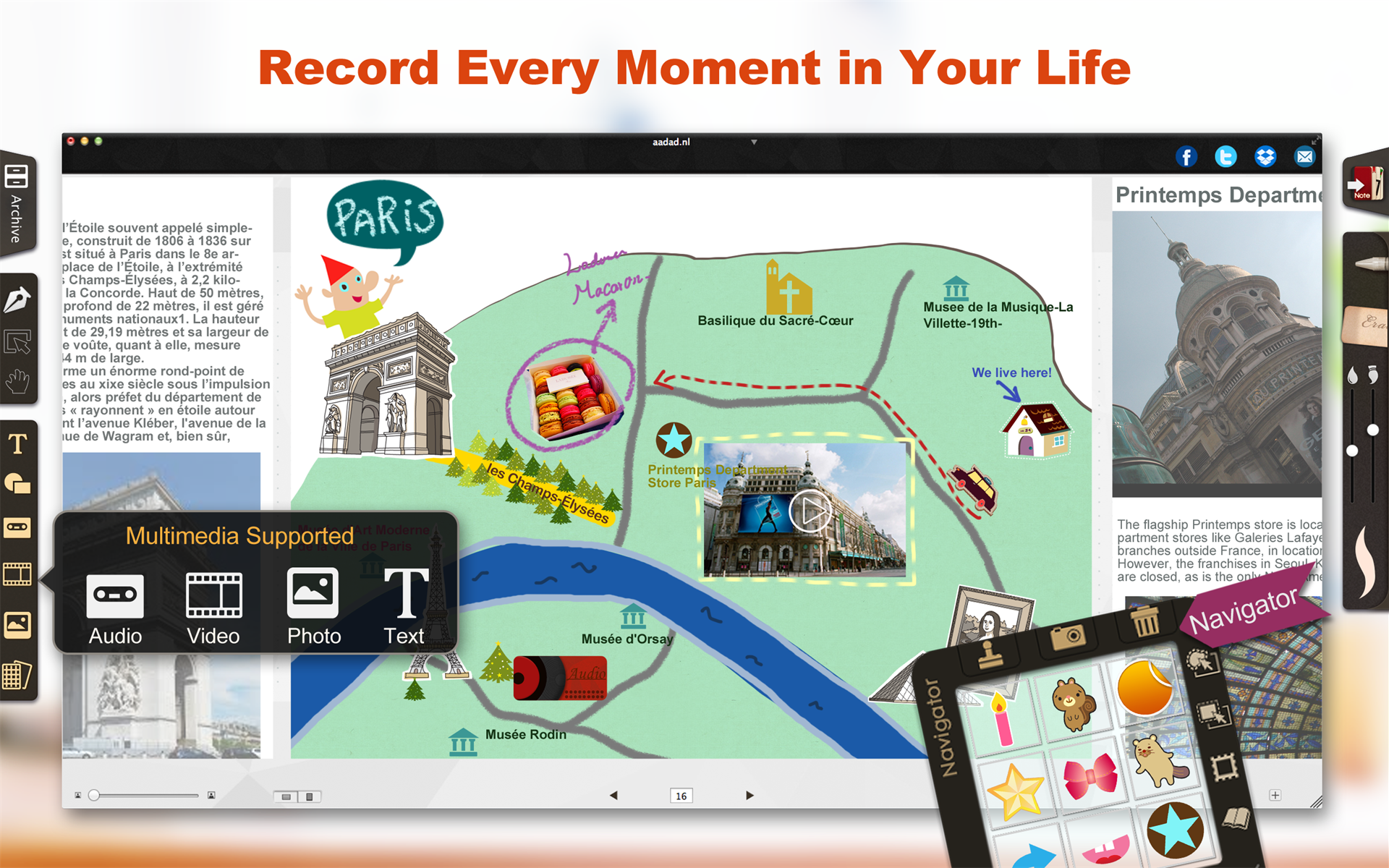 NoteLedge for Mac Screenshot