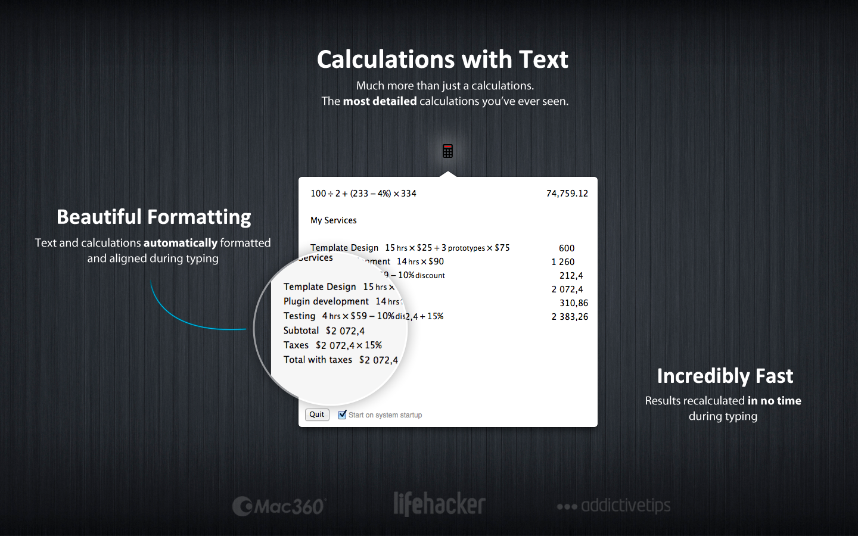 """Numi - 结合文字和数字的计算器[OS X]丨""""反""""斗限免"""