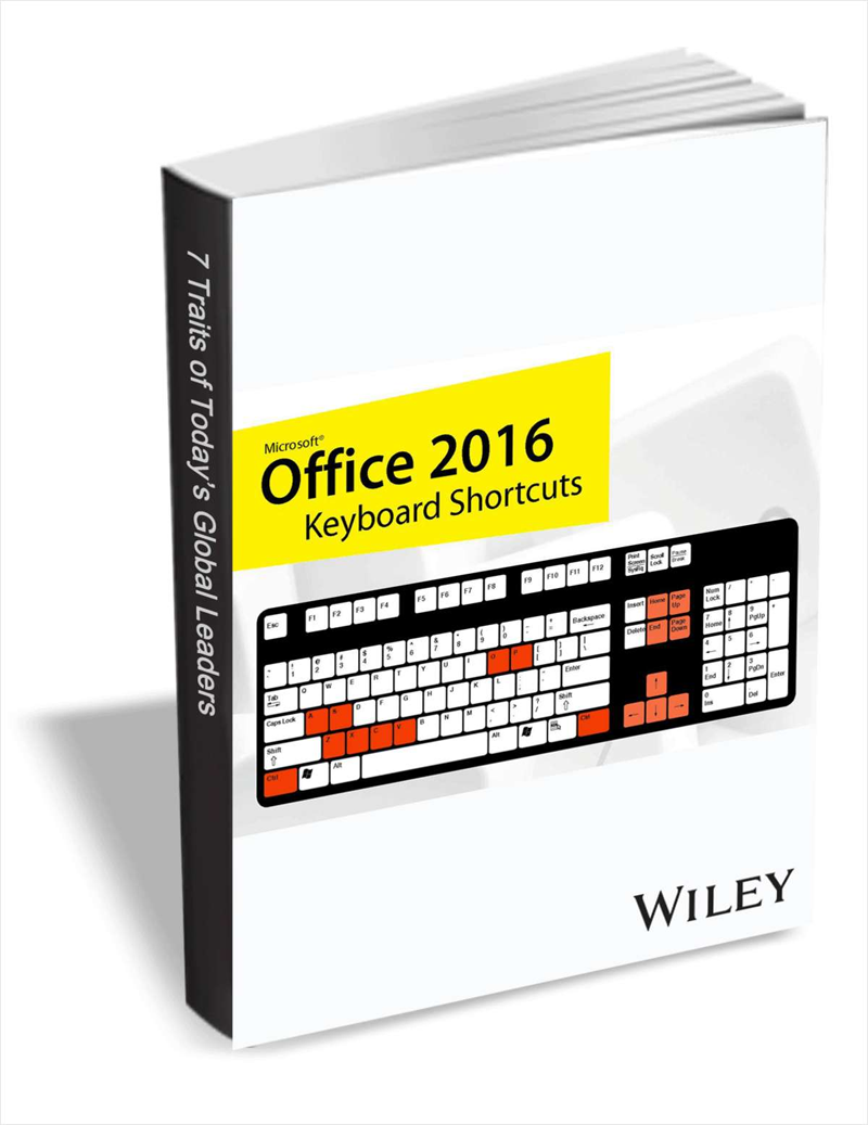 Office 2016 Keyboard Shortcuts Screenshot