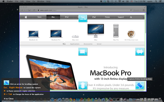 Ondesoft Screen Capture for Mac Screenshot