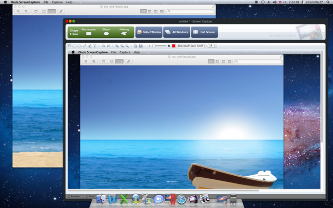 Screenshot Software, Ondesoft Screen Capture for Mac Screenshot