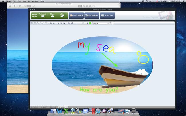 Ondesoft Screen Capture for Mac, Screenshot Software Screenshot