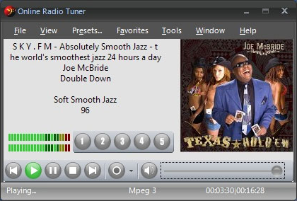 Online Radio Tuner Screenshot