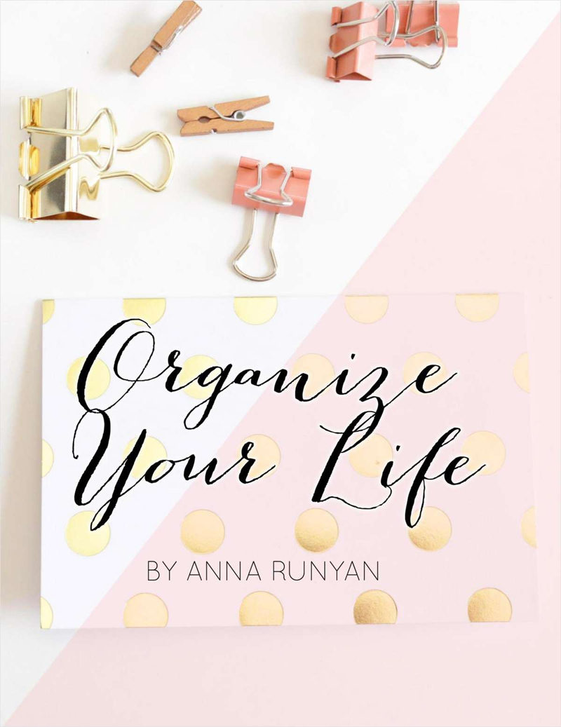 Organize Your Life: Top 10 Processes You Need to Organize Your Life Screenshot