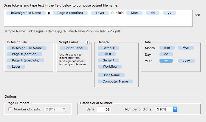 Output Factory, Graphic Design Software Screenshot