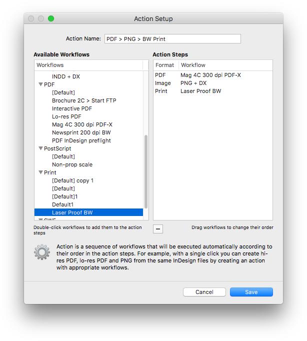 Graphic Design Software, Output Factory Screenshot