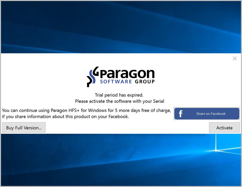 Paragon ntfs for mac 12 serial