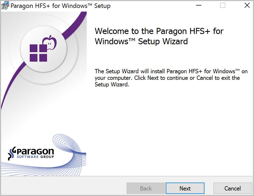 Paragon 3-in-1 Mac Bundle: NTFS for Mac 14 & HFS+ for Windows 11 & Camptune X, Software Utilities, Hard Drive Software Screenshot