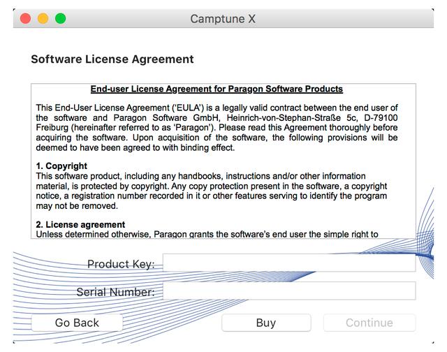 Paragon Camptune, Software Utilities, Hard Drive Software Screenshot