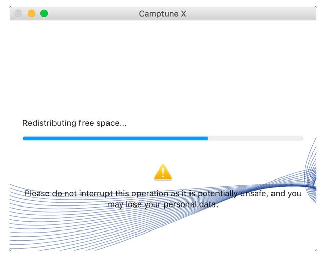 Software Utilities, Paragon Camptune Screenshot