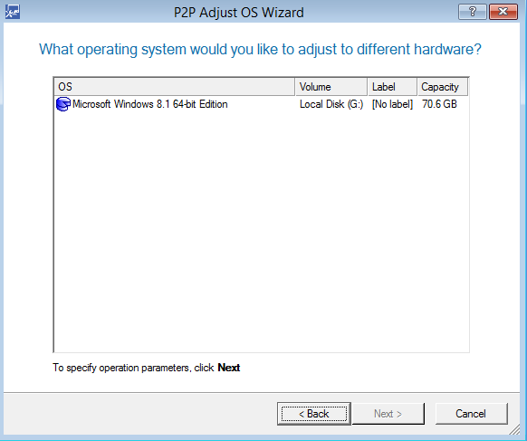 Software Utilities, Paragon Drive Copy 15 Professional Screenshot
