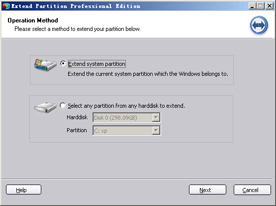 Partition Assistant Professional Edition, Hard Drive Software Screenshot