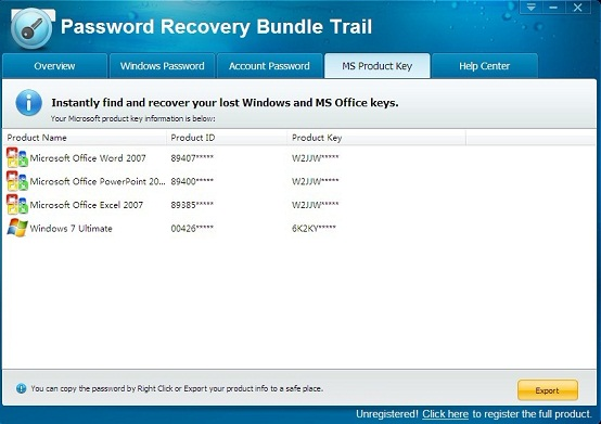 Microsoft Office 2000 Serial Recovery Software