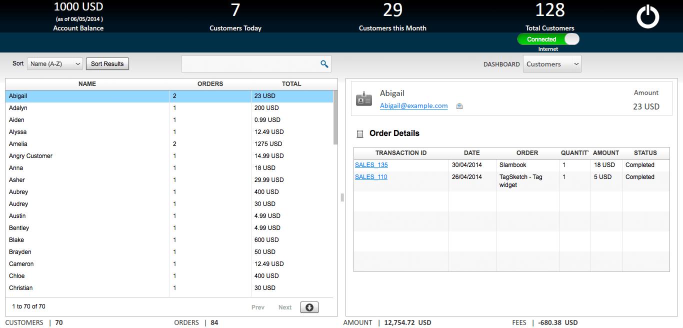 PaySketch, Business & Finance Software Screenshot
