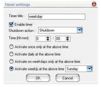 Free PC Log Off / Sleep / Shutdown Tool