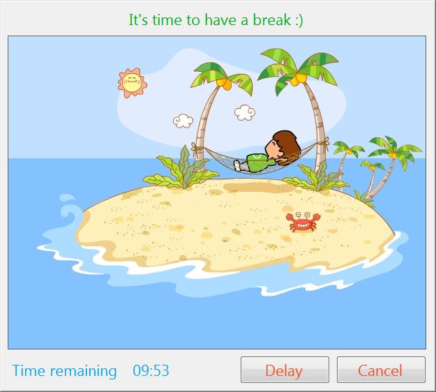 PC WorkBreak Screenshot
