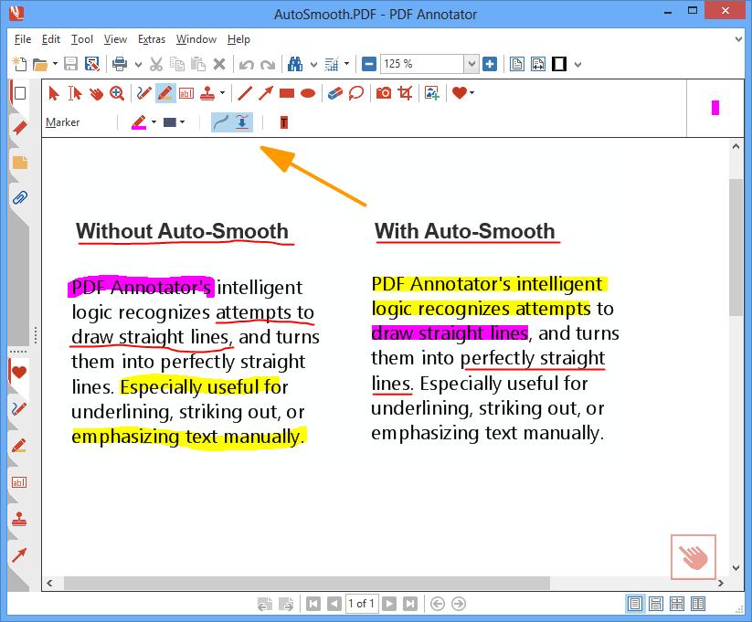 PDF Annotation Software Screenshot