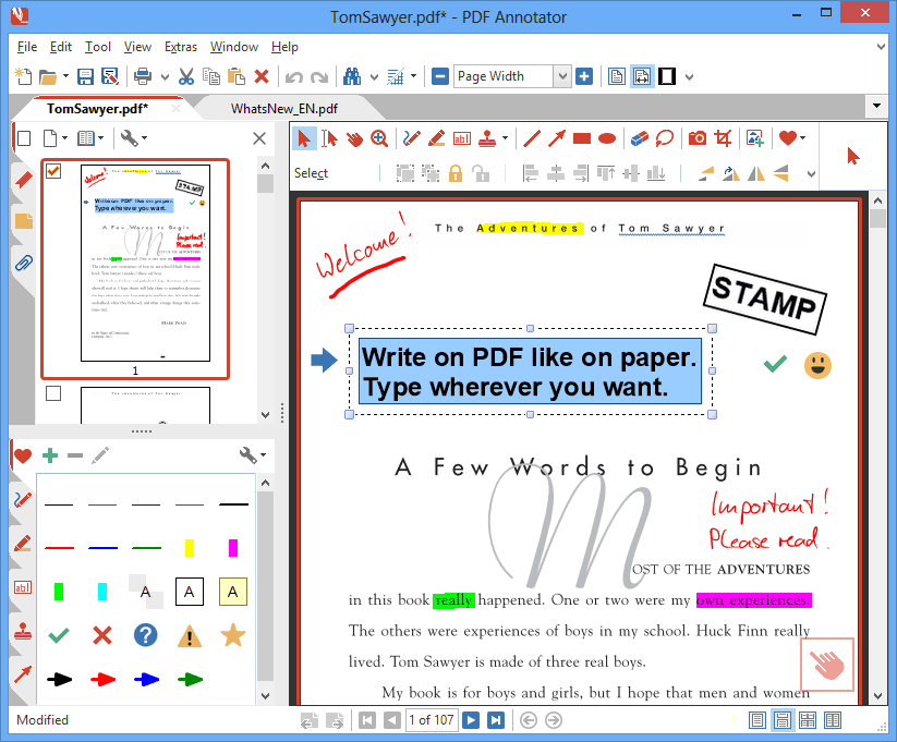 PDF Annotator (New Version 6!) Screenshot