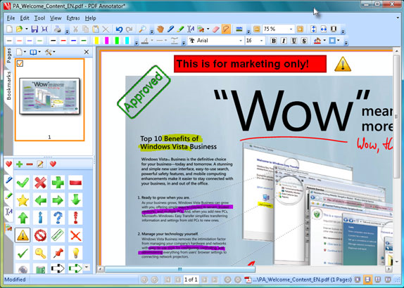 PDF Annotator 2 Screenshot