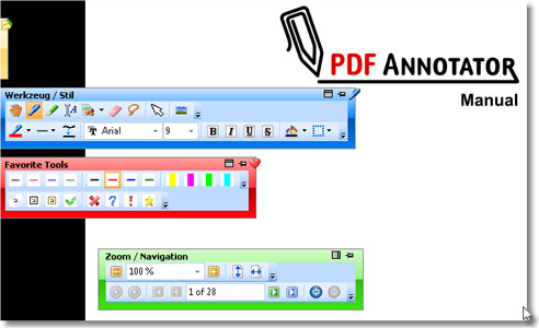 PDF Annotator 2, PDF Annotation Software Screenshot