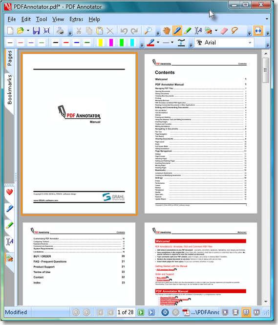PDF Annotator 2, Business & Finance Software Screenshot