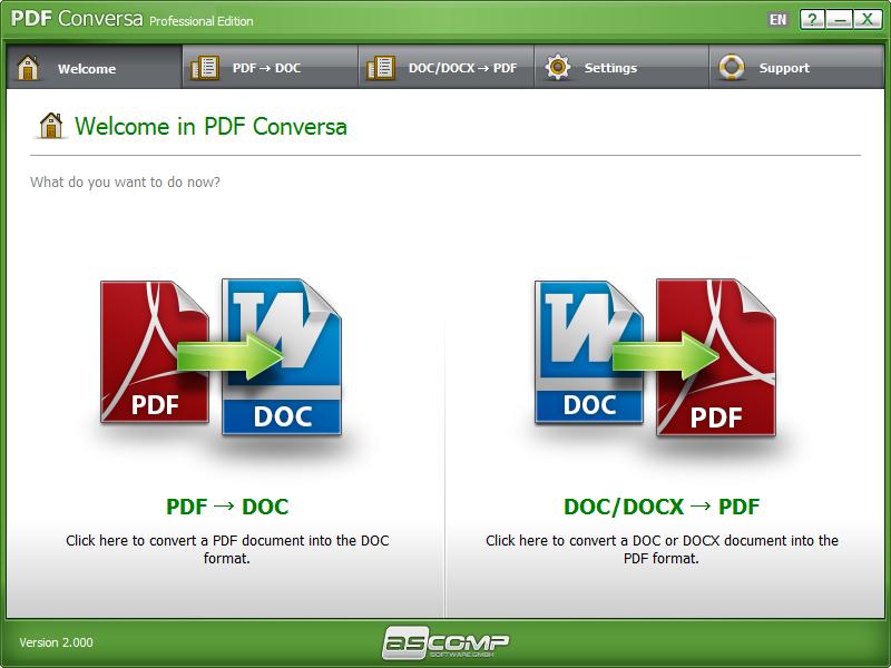 PDF Conversa Screenshot