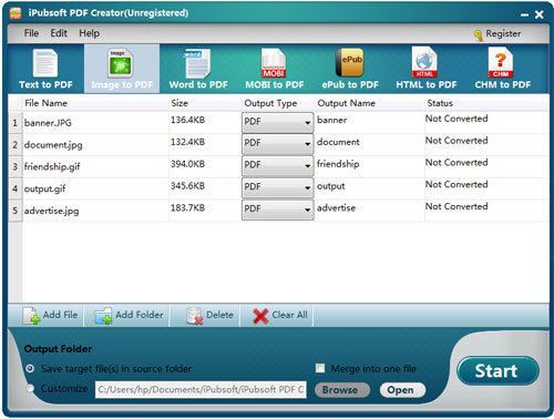 PDF Utilities Software, PDF & eBook 8 Tools Bundle Screenshot